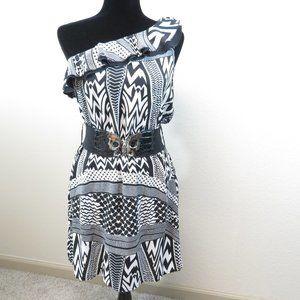 Roommates California One Shoulder Mini Dress